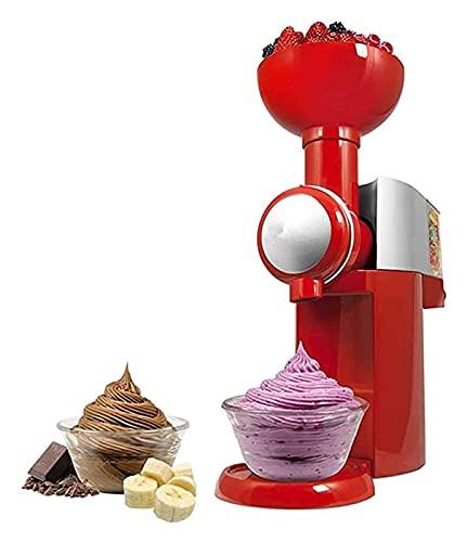 qwertyuio Macchina Per Gelatiera Domestica Macchina Per Gelato Alla Frutta Per Casa Macchina Per Gelato Artigianale Naturale Frullatore