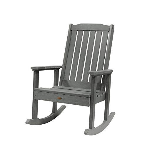 Highwood Lehigh Rocking Chair, Coastal Teak