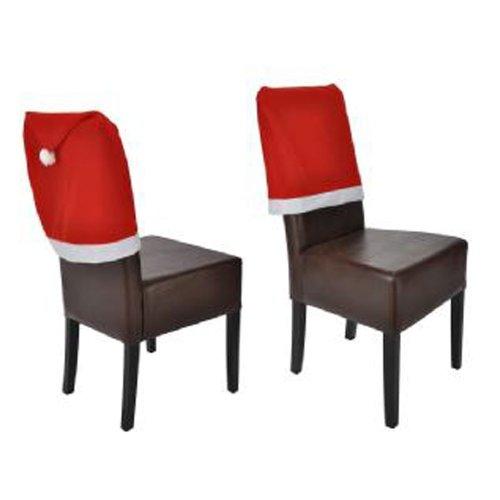 Stuhlhusse Weihnachten Weihnachts Sitzbezug Stuhl Überzug Husse