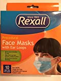 Rexall Procedural Face Masks with Ear Loops 10 Pack