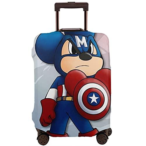 Anime Cartoons - Protectores impermeables para equipaje con cremallera, tamaño pequeño, mediano, grande, cuatro tamaños a elegir