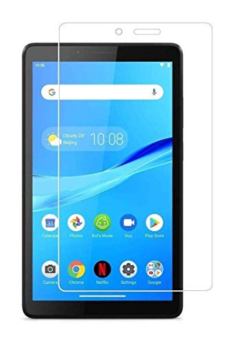 Accessories kart Tempered Glass with Nano tech Technology 0.3mm Highly Transparency Screen Protector for Lenovo Tab M7 (Pack of 1)