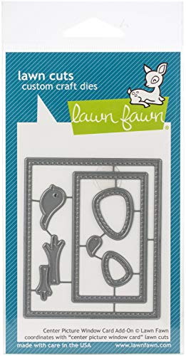 Lawn Fawn, Lawn cuts/Stanzschablone, Center Picture Window Card add-on