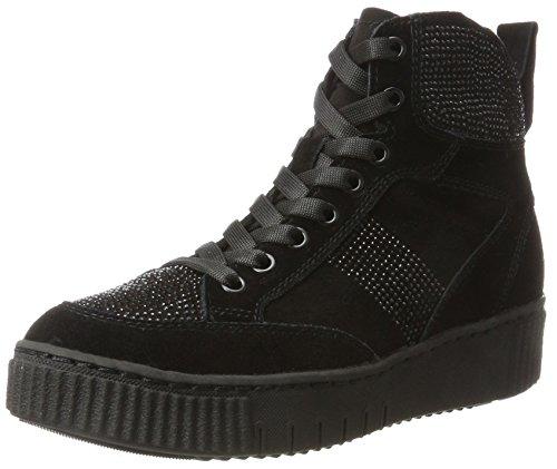 Tamaris Damen 25234 Hohe Sneaker, Schwarz (Black), 38 EU