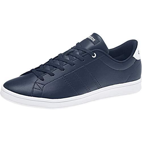 adidas Women's Advantage Clean Qt Tennis Shoes, Blue (Conavy/Conavy/Ftwwht 000), 9.5 UK