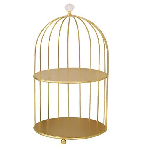 Cabilock Cosmetic Rack Bird Cage Desktop Makeup...