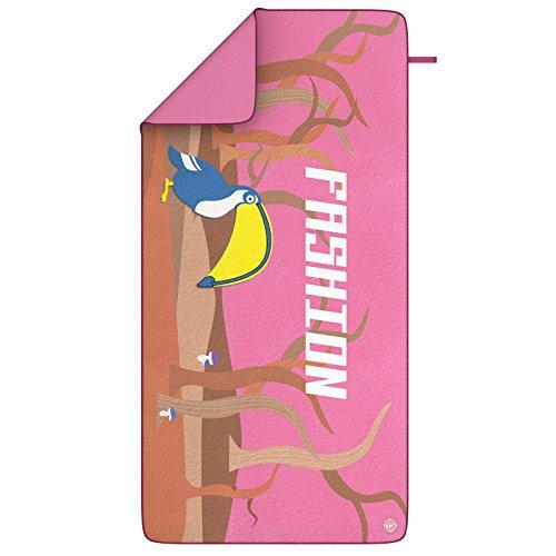 LBAFS Toallas De Natación Absorbente Adulto Playa Vacaciones Esencial Niños Secado Rápido Arenoso,Pink