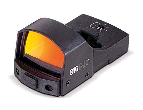 Sig Sauer SIG AIR Reflex Sight 1x23mm 3 MOA Red Dot Reticle Black AIRREFLEXSIGHT