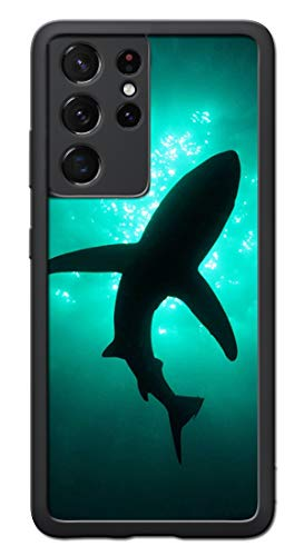 GAOAG for Samsung Galaxy S21 Case - Shark 02 Pattern Phone case - TPU Shock Absorption Protection Phone Cover Case