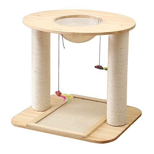 JCXOZ Árbol de Gato, Torre de Gato pequeño, condominio, rasguño Post Kitty Activity Center Kitten Play House for Gatito Pequeños Gatos Escalada Jugando Arboles para Gatos