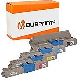 4 Bubprint Cartuccia Toner compatibili per OKI C301 C301DN C321 C321DN MC332 MC332DN MC340 MC342 MC342DN MC342DNW - 44973536 44973535 44973534 44973533