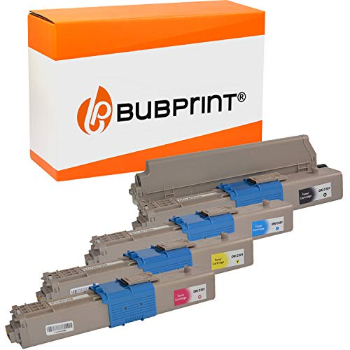 4 Bubprint Toner kompatibel für Oki C301 C301DN C321 C321DN MC332 MC332DN MC340 MC342 MC342DN MC342DNW - 44973536 44973535 44973534 44973533 Set