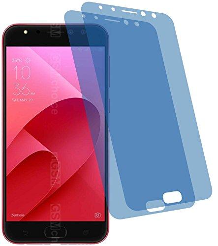 4ProTec I 2X Crystal Clear klar Schutzfolie für Asus ZenFone 4 Selfie Pro ZD552KL Bildschirmschutzfolie Displayschutzfolie Schutzhülle Bildschirmschutz Bildschirmfolie Folie