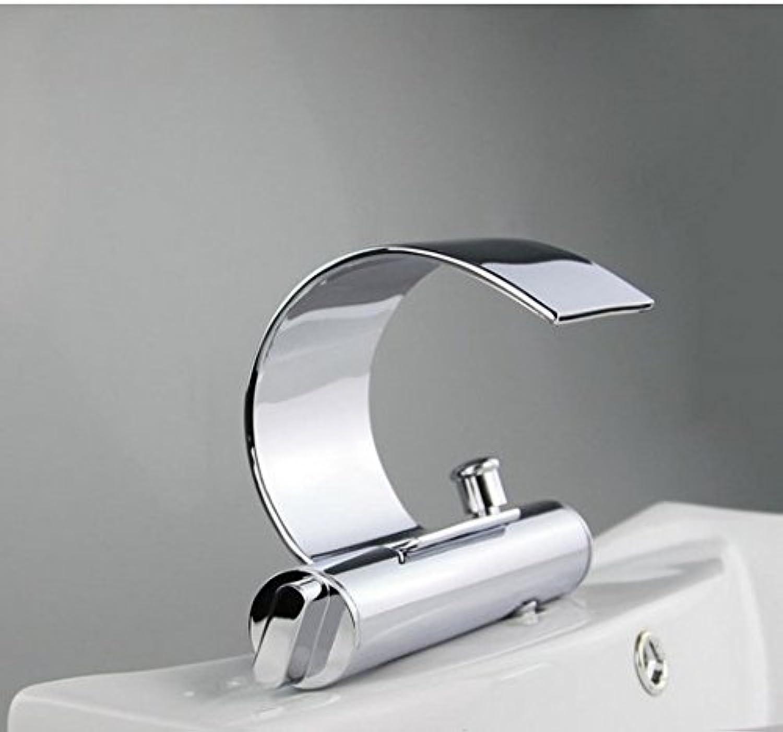 Gowe strapazierfhige massivem Messing Chrome Finish Deck Halterung Badezimmer Wasserhahn Waschbecken Wasserhahn Spüle Wasserhahn Vessel Vanity Mischbatterie Wasserhahn