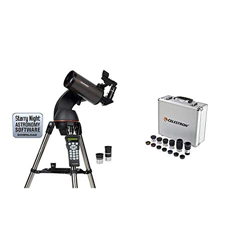 Best Prices! Celestron NexStar 90SLT Mak Computerized Telescope (Black) with Eyepiece and Filter Kit...