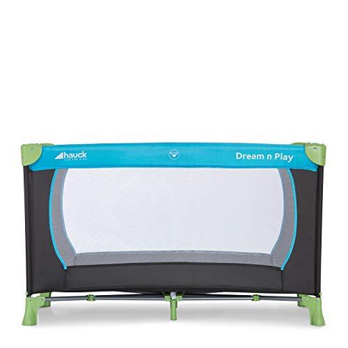 Hauck Kinderreisebett Dream N Play / inklusive Einlageboden und Tasche / 120 x 60cm / ab Geburt / tragbar und faltbar, Wasser (Blau) - 12