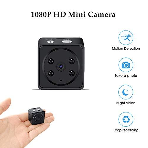 CETLFM 1080P HD-Innenkamera, Nachtsicht-Mini-Nachtsichtkamera + 8G-Speicherkarte, Multifunktionskamera.