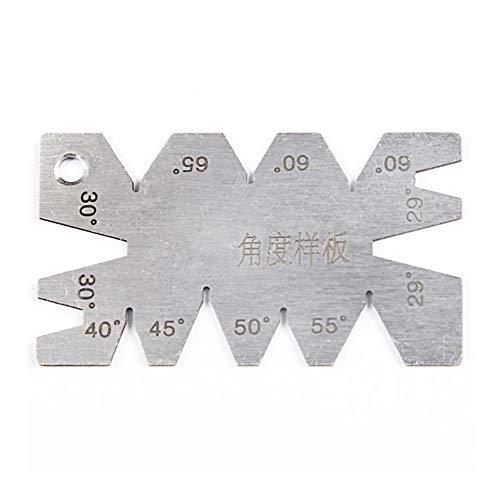 XinXinFeiEr Ligera 32 Cuchillas espesores de Ancho métrico Gap Filler 0.04-0.88mm Espesor Herramienta Measurment for Gage Difícil (Color : 1 Pc)