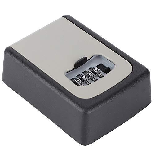Llave Cerrar con Llave Caja, Aluminio Aleación Elevado-Fuerza Aluminio Aleación Seguridad Caja de Seguridad Llave Almacenamiento Cerrar con Llave por Llave Almacenamiento