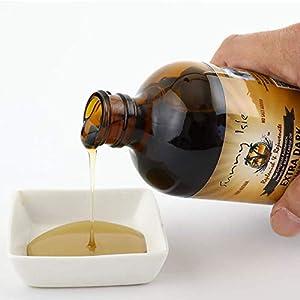 Sunny Isle Extra Dark Jamaican Black Castor Oil, Brown, 8 Fl Oz (Pack of 6)