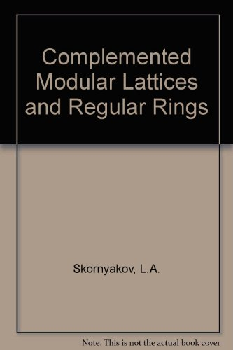 Complemented Modular Lattices and Regular Rings