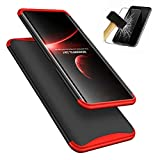 Oppe Find X Case, Laixin Protection 3 in 1 Slim Hard PC