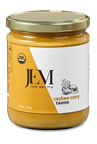 JEM - NUT BUTTERS Cashew Curry Tahini, 454 g