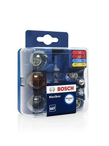 Estuche de lámparas de repuesto Bosch Maxibox H1/H7 12V