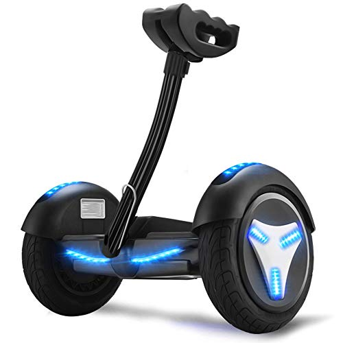 Hoverboard,for Adults and Children Two-Wheel Home Toy Self Balancing Car,Electric Scooters with Bluetooth Speaker and LED Light,Black