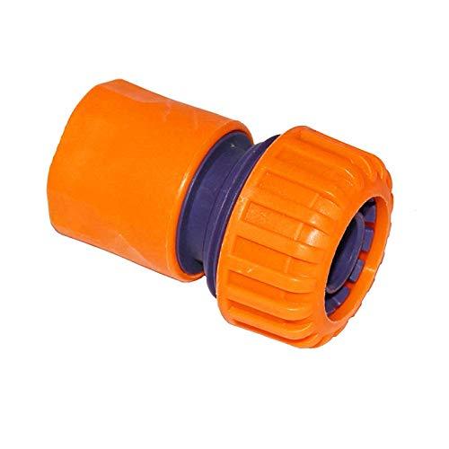 WEIZI DN15 DN20 DN25 - Conector rápido para manguera de riego de jardín (1/2', 3/4', 1/2', 3/4', 1'