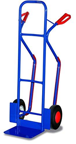 Stahlrohrkarre RAL5010 Enzianblau Sackkarre Klappkarre Kistenkarre Stapelkarre