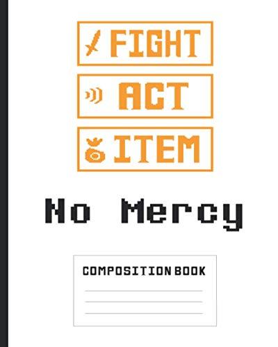 Undertale No Mercy Composition Book