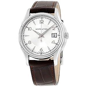 Hamilton Jazzmaster Gent- Reloj con pulsera de piel, para hombre, color marrón