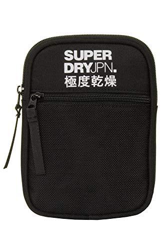 Superdry SPORT POUCH Kleine Taschen hommes Schwarz - Einheitsgrösse - Geldtasche/Handtasche