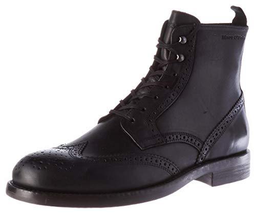 Marc O'Polo Herren 00725926302149 Oxford-Stiefel, 990 Black,44 EU