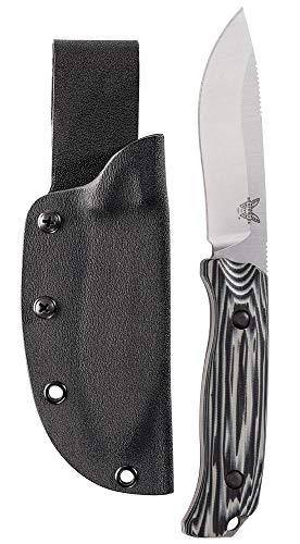 Benchmade - Saddle Mountain Skinner 15001-1 Knife, Drop-Point Blade, Plain Edge, Satin Finish, G10...