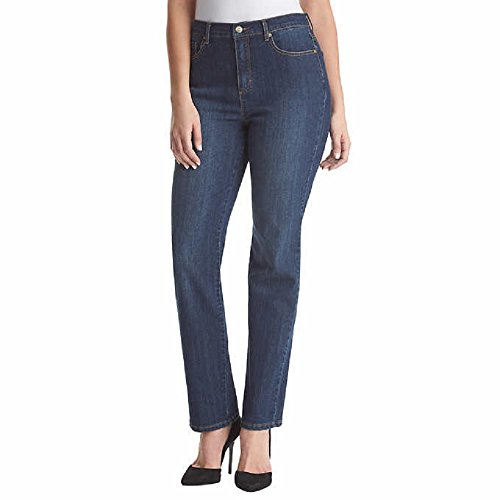 Gloria Vanderbilt Ladies' Amanda Stretch Denim Tapered Leg Jean Sizes 6-18 Tall (14, Scottsdale Blue)