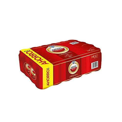 Amstel Cerveza - Caja de 24 Latas 330 ml - Total: 7,9 L