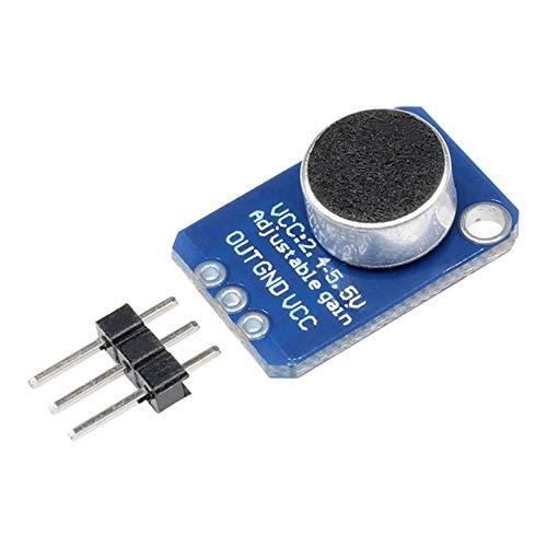 Modulo AMPLIFICATORE MAX9812 Microphone Mic Voce 3.3 V 5.0 V stanza Arduino MIC