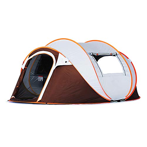 Pop Up Tents, Quick Tent 3-4, Open the Tent in 1 Second Automatic Double Layer Tent Tunnel Tent Waterproof Dome UV Protected Family Ideal for Camping in the Garden Light Trekking