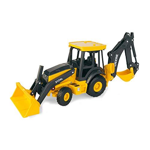 TOMY John Deere Big Farm Backhoe Loader Toy