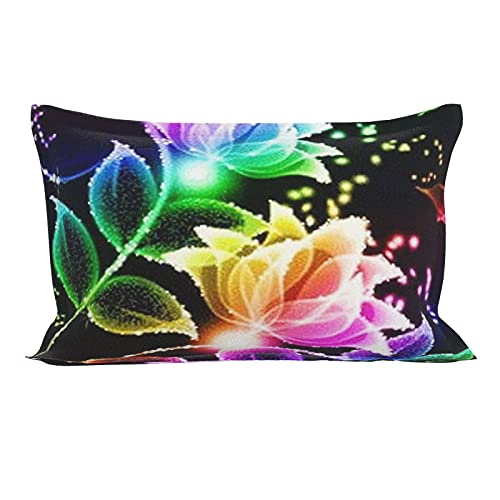 Colored Flowers Chair Cushions, Car Cushions, Interior Decorations. Can Be Used In Any Room-Bedroom, Guest Room, Children's Room, Recreational Vehicle, Vacation