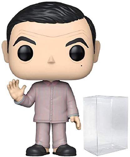 Funko Movies: Mr. Bean – Mr. Bean Pijamas Pop! Figura de Vinilo (Incluye Funda...