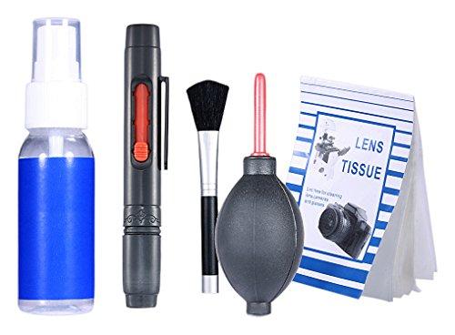 Neewer 6-IN-1 professionelle Reinigungsset für Spiegelreflexkamera und empfindliche Elektronik wie Canon, Nikon, Pentax, Sony, Teleskope und Fernglas