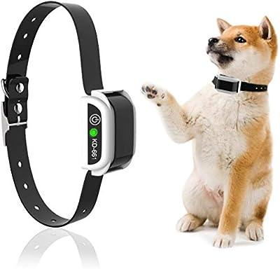 JZORI Dog Collar for Wireless Dog Fence System & Dog Training, Waterproof Reflective Stripe Training Collar Receiver