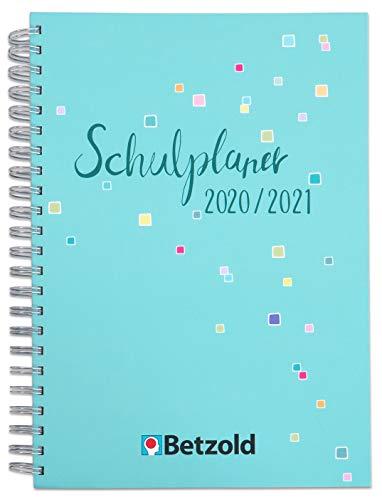 Betzold 758672 - Design-Schulplaner 2020/2021, Ringbuch, DIN A4, Lehrerkalender Kalender für Lehrerinnen und Lehrer