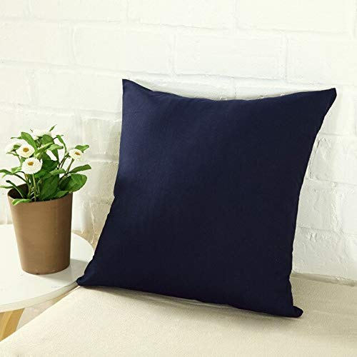 WZNB Cushion Cover Hug Pillow Cover Car Sofa Cushion Cover Solid Color Simple Outdoor Chair Lumbar Cover 8