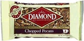 Diamond Baking Nuts Pecans Chopped, 8-Ounce Bags (Pack of 4)