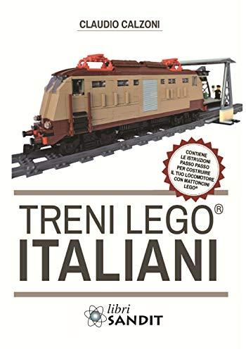 Treni Lego® italiani, con istruzioni passo passo per costruire il locomotore con mattoncini Lego®