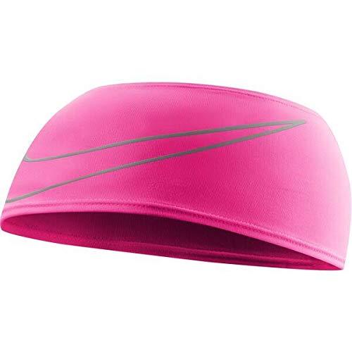 Nike Unisex - Swoosh hoofdband, volwassenen, roze, 9 cm
